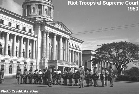 riots 1950