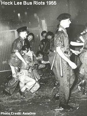riots 1955