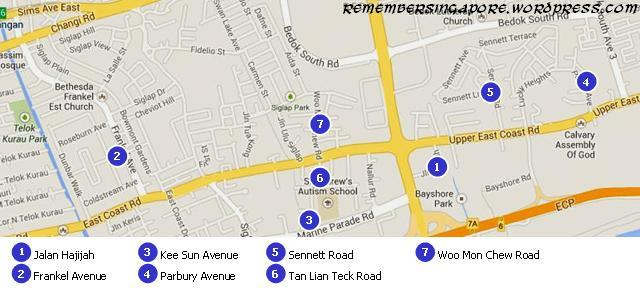 sg road names - siglap map