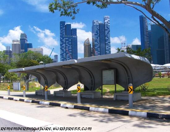 south bus former marina south bus stop2 remember singapore