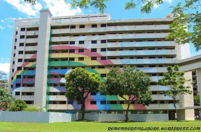 hougang hdb rainbow mural