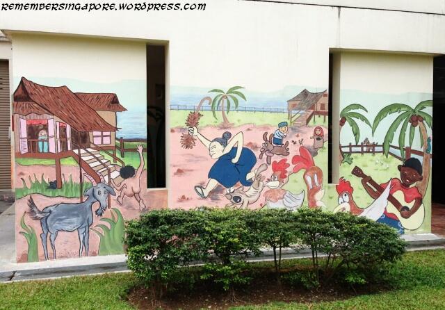 punggol hdb mural