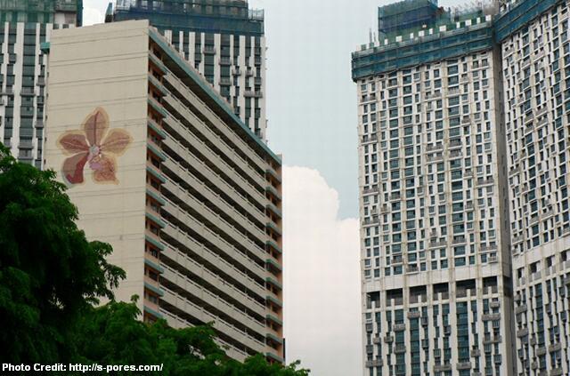 tanjong pagar hdb mural 2009