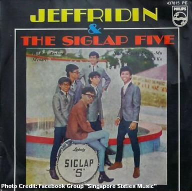 jeffridin and the siglap five 1960s
