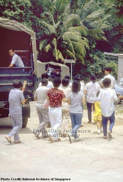 tekong temple resettlement 1992-3
