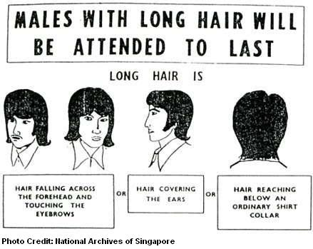 long hair served last 1972