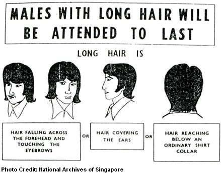 long hair served last 1972