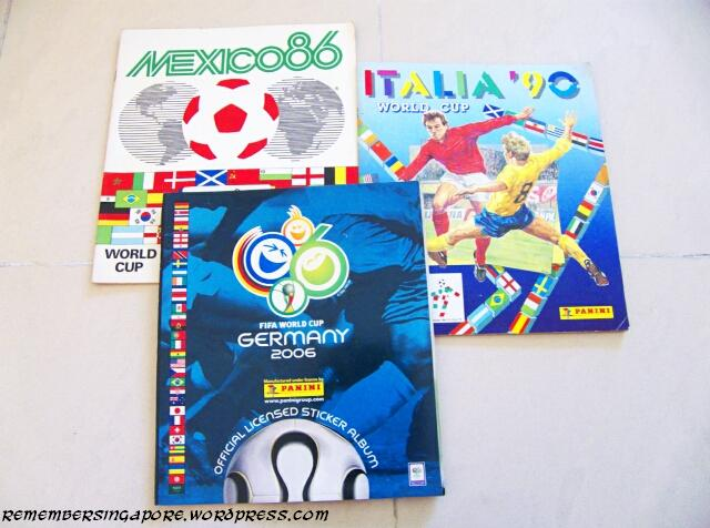 panini world cup sticker albums