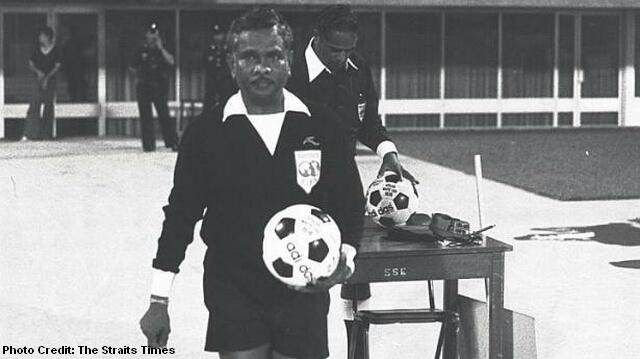 world cup 1974 referee george suppiah