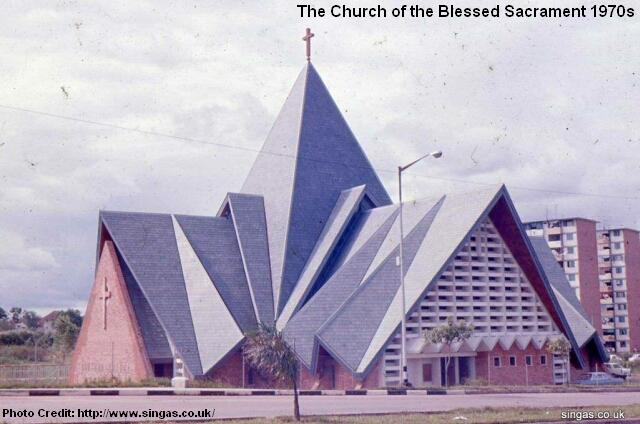 church of the blessed sacrament 1970s