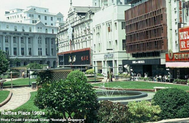 raffles place2 1960s