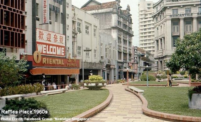 raffles place3 1960s