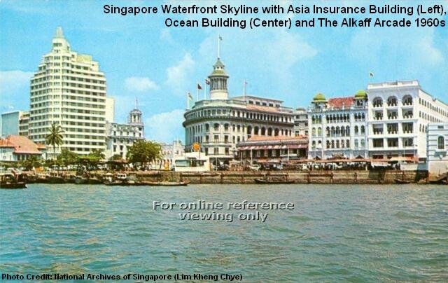 singapore waterfront 1960s