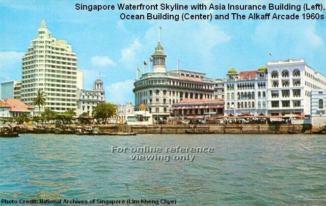 singapore waterfront 1960s