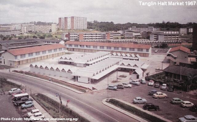tanglin halt market 1967