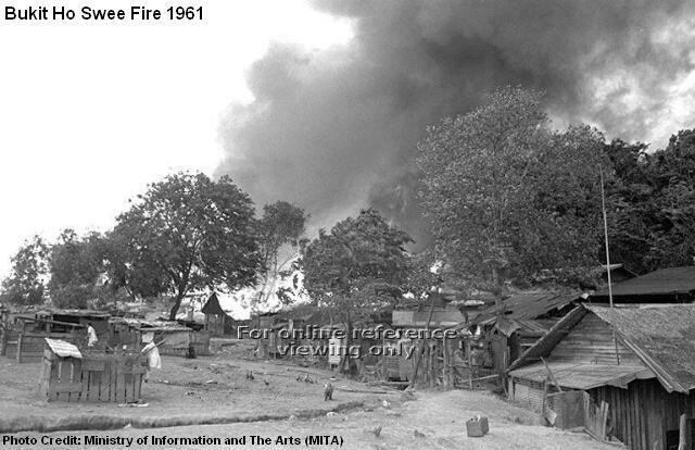 bukit ho swee fire 1961