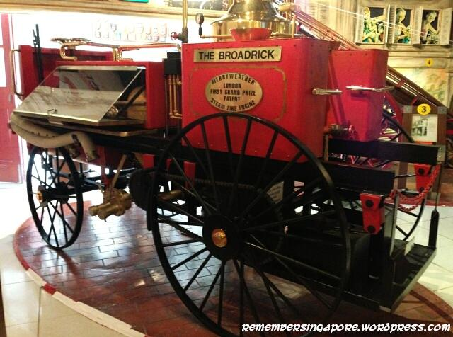 Scdf Heritage Gallery Singapore S Firefighting History