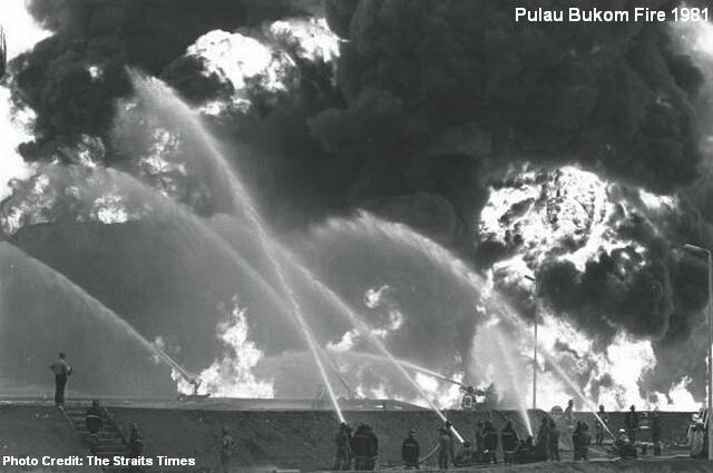 pulau bukom fire 1981
