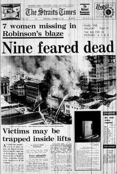 robinsons fire 1972