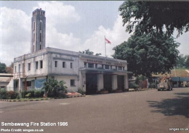 sembawang fire station 1986