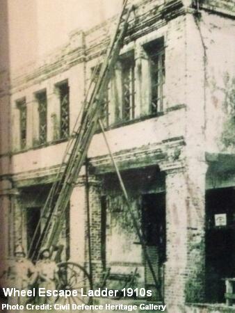 wheel escape ladder 1910s