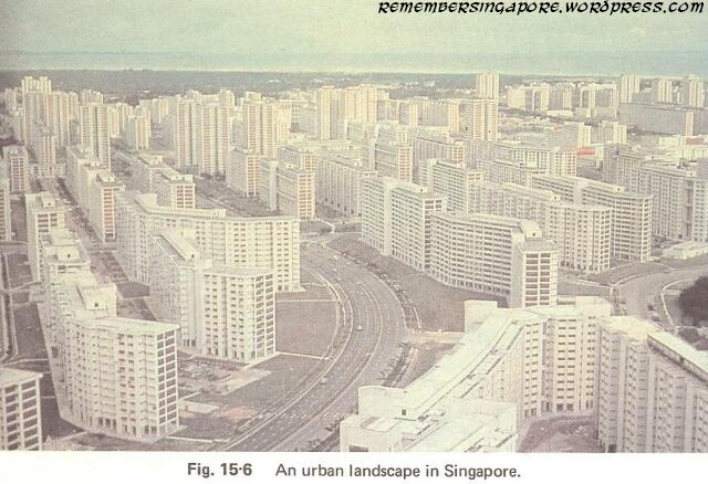 1982 singapore urban landscape