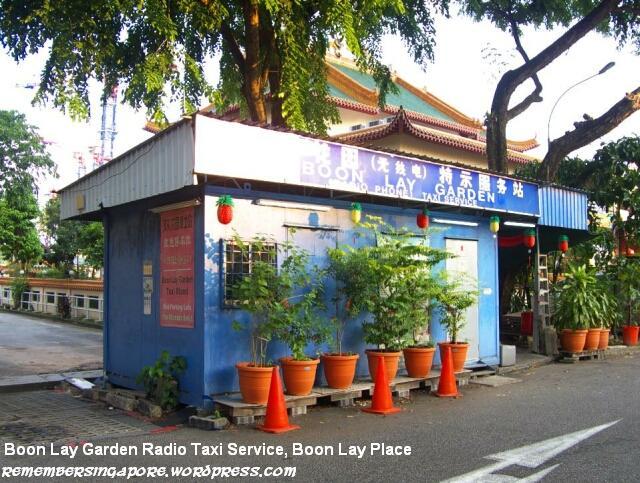 boon lay garden radio taxi service
