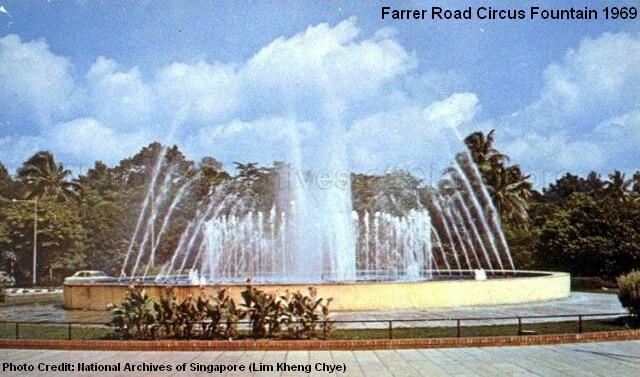 farrer road circus fountain 1969