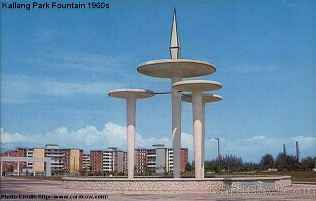 kallang park fountain 1960s