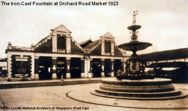 orchard road market fountain 1923