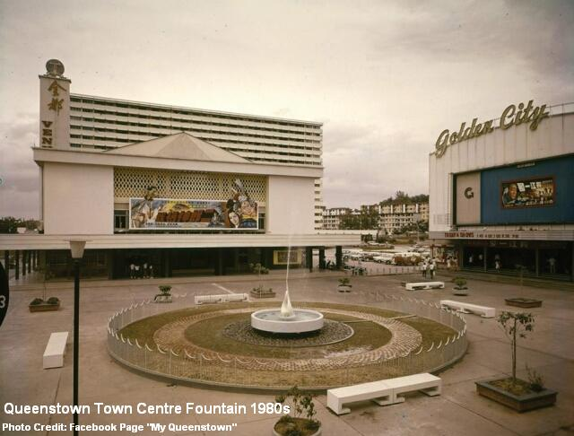 queenstown town center 1970s
