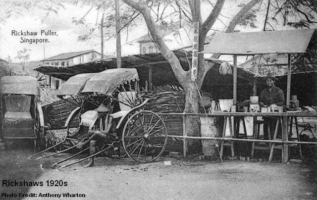 rickshaws 1920s