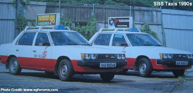 sbs taxis 1990s