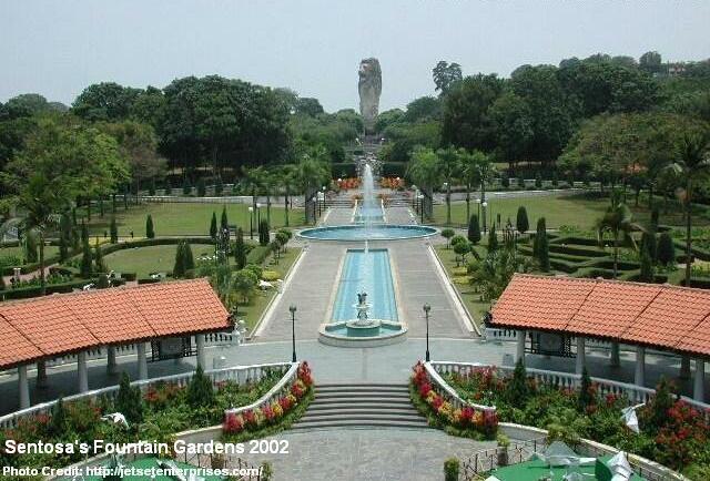 sentosa fountain gardens 2002