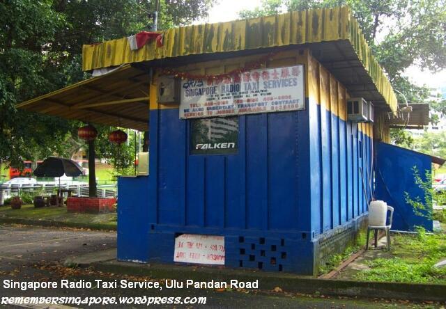 singapore radio taxi service ulu pandan