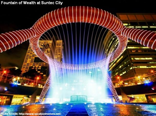 suntec city fountain of wealth