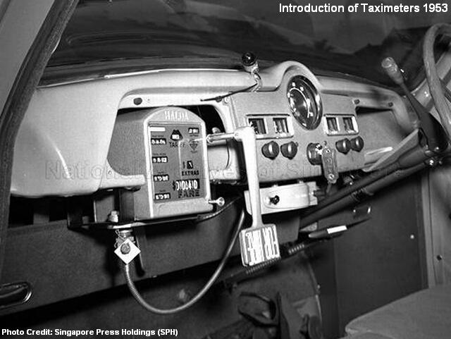 taximeters 1950s