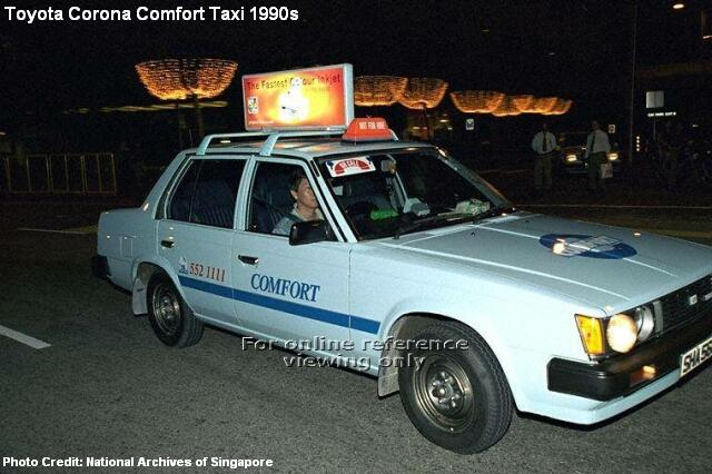 toyota corona comfort taxi 1990s