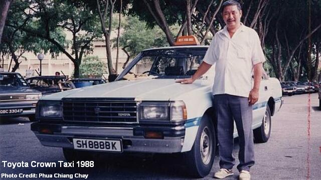 toyota crown taxi 1988