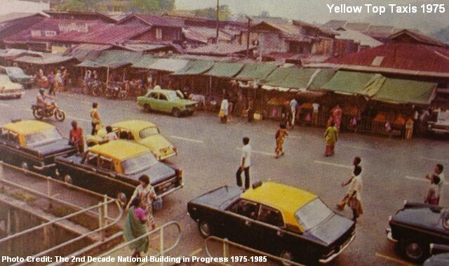 yellow top taxis 1975