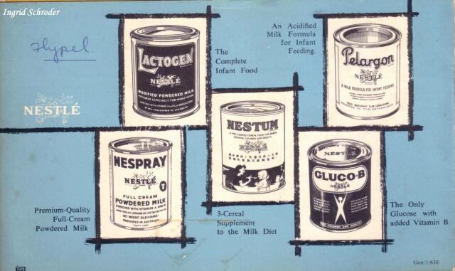 nestle milk advert 1966