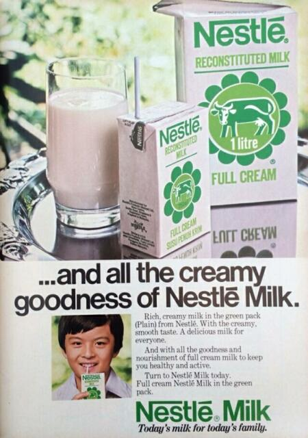 nestle milk advert 1979