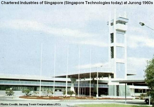 chartered industries of singapore 1960s