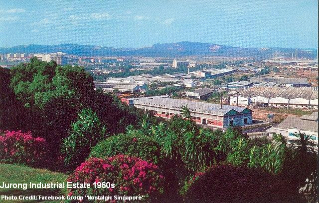 jurong industial estate 1960s