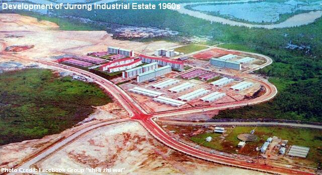 jurong industrial estate development 1960s