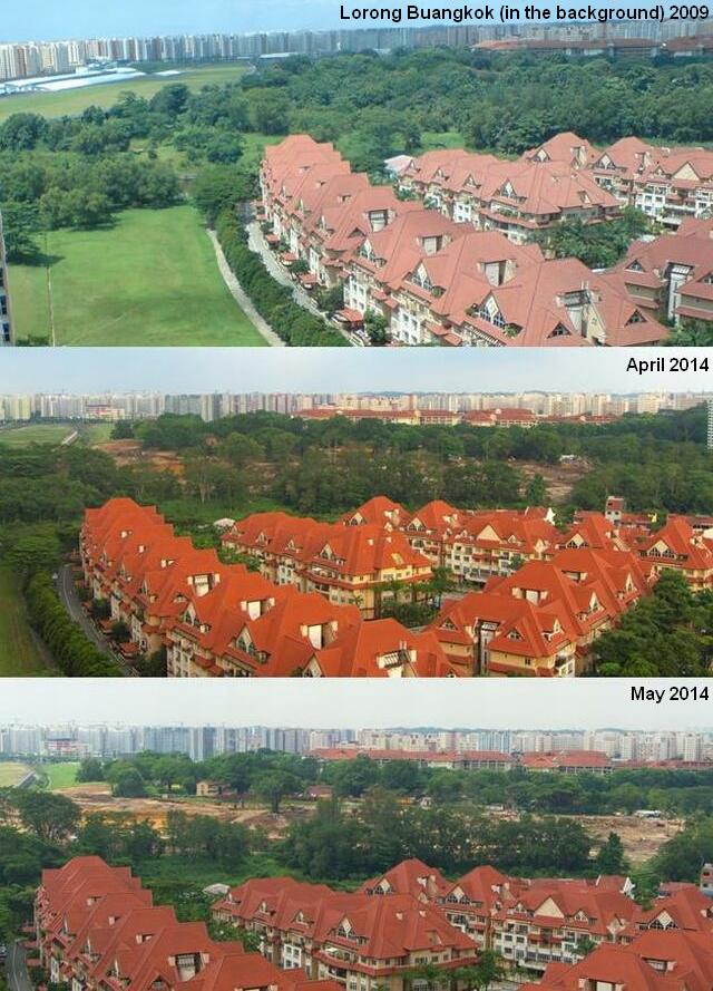 lorong buangkok development 2009-2014