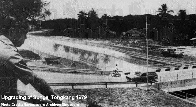 sungei tongkang canal 1979