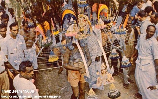 thaipusam 1960s