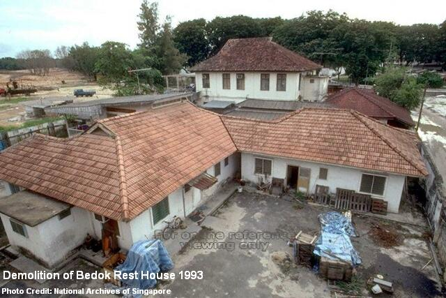 demolition of bedok rest house 1993