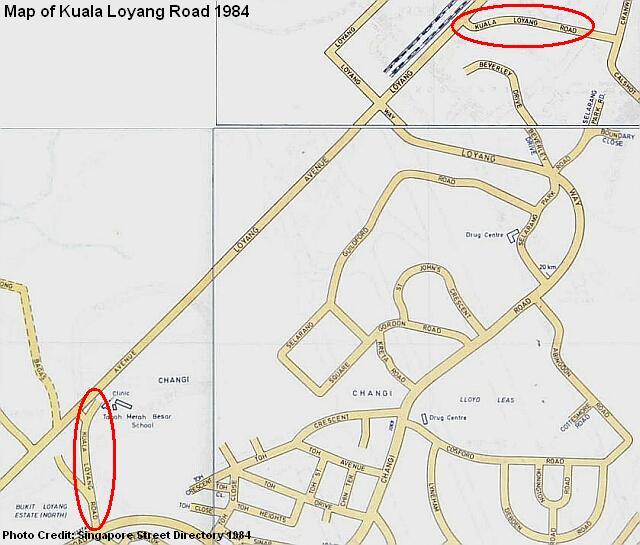 kuala loyang road map 1984